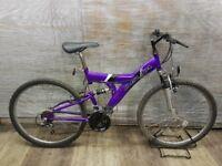 "Unisex mountain bike DELTA Wheels 26"" Frame 18"""