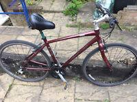 aluminum bike