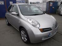 2004 NISSAN MICRA 1.2FULL AUTOMATIC, 5DOOR, FULL SERVICE, ONLY 70K, CLEAN CAR, DRIVES LIKE A NEW