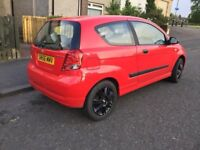 chevrolet kalos 1.1cc 56 plate 795 or swap for van or 7 seater