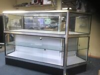 Ex Sony display glass cabinet