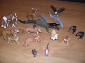 Selection of Wildlife/Sealife Animals