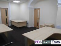 Cheap rent for newly refurbished and furnished office in BD1. Includes ALL bills.