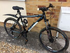 """Diamond Back Vectra 7005 mountain bike with 24 gears 26"""" rims in nearly new condition"""