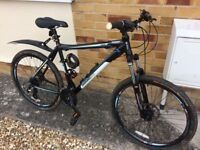 "Diamond Back Vectra 7005 mountain bike with 24 gears 26"" rims in nearly new condition"