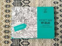 OMY Pocket Map: My Atlas - colouring