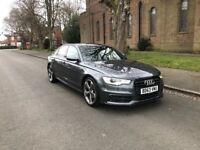 Audi A6 2.0 TDI S-Line Black Edition 177BHP...Saloon, 2014 (63 Reg)