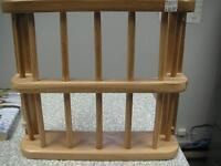 For Sale  Accent and organize with this solid oak finish