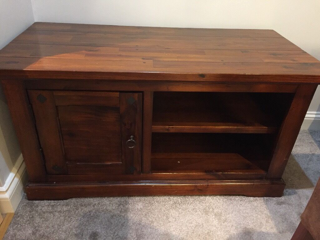Heavy duty wooden TV cabinet