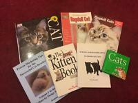 Cat Info Books Manuals x 7 Ragdoll, Kittens, Nursing