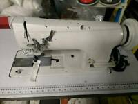 Industrial sewing machine brother b837 needle feed walking foot large bobbin