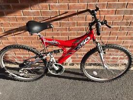 Shockwave mountain bike