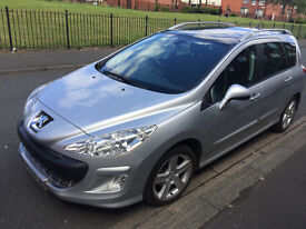 SOLD PEUGEOT 308 SW 7seater 1.6 Diesel