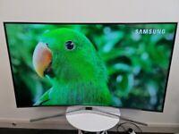 Samsung 55 Inch Curved 4k Ultra HD HDR TV (Model UE55KU6500)!!!