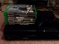 XBOX ONE and 6 Games