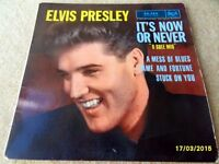 Elvis It's now or never Ep from France 86,288
