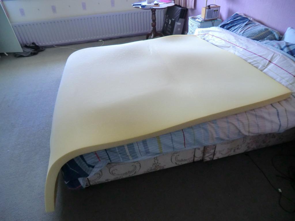 Memory Foam Mattress Topper Double Size In Edgware London Gumtree