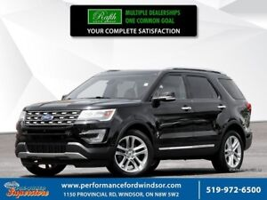2016 Ford Explorer Limited ***AWD, NAV, leather***