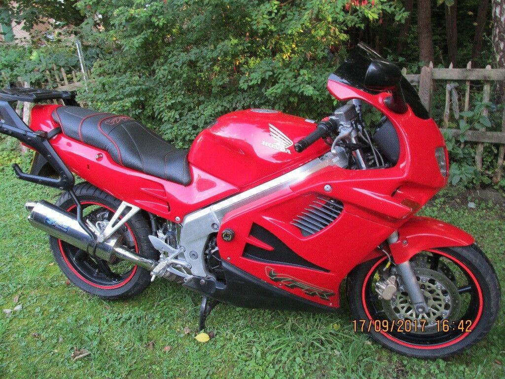 Honda VFR 750FV With luggage