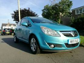Vauxhall corsa energy 1.2 blue, only 1 owner from new, perfect first car!