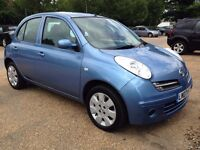 Nissan Micra 1.2 Automatic With Full Dealer Service History and a Year MOT