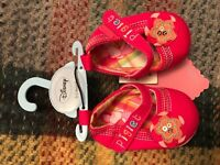 Two pairs of baby shoes- new! Approx 0-3 months