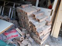 reclaimed terracotta bricks approx 140