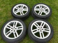 "18"" Audi alloy wheels genuine"
