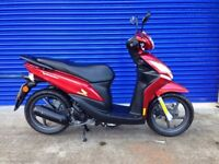 IMMACULATE AS NEW 2016 HONDA VISION NSC 50cc MOPED , HPI CLEAR , VERY LOW MILES
