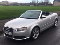 A4 CONVERTIBLE S / LINE 07 REG BUT STILL LIKE NEW IN VERY GOOD ORIGINAL CONDITION IN/OUT.