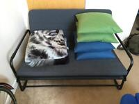 Ikea Hammarn sofabed, used only a handful of times, perfect condition, with extras!