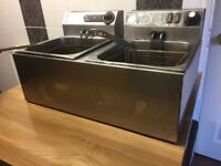 Stainless steel deep fryers | Kitchen appliances | Catering equipment | Electricals