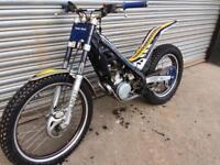 Sherco 125 trials bike