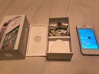 IPhone 4s white Boxed EE