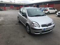 2005 Toyota Yaris very low mileage.