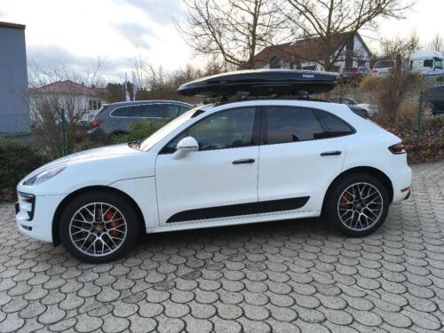 thule dachbox dynamic m l porsche macan suv mieten oder. Black Bedroom Furniture Sets. Home Design Ideas