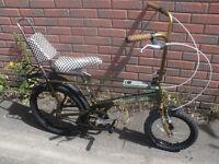 Raleigh Chopper Wedgewood Ltd Edition Bike
