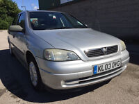 Vauxhall Astra 1.7 DTi 16v Envoy 5dr (S/HISTORY) (Silver) 2003