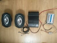 Speakers, Amplifier and Audio Capacitor