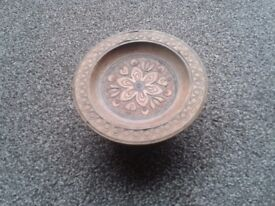 Walter Stahli Musical Carved Rotating Plate.