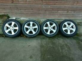 4 x winter tyres + Alloys