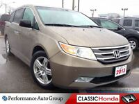 2013 Honda Odyssey TOURING NAVIGATION CLEAN CARPROOF LEATHER SEA