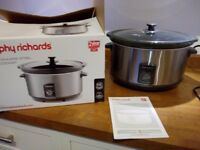 Morphy Richards slow cooker 6.5L excellent condition