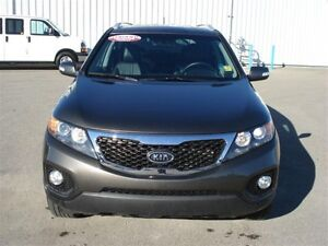 2013 Kia Sorento EX AWD - leather - sunroof! Regina Regina Area image 3