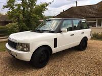 Range Rover HSE 4.4 105k with rebuilt gearbox