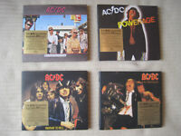 AC/DC CDs (4 AC/DC Remastered CDs with Booklets) - £12
