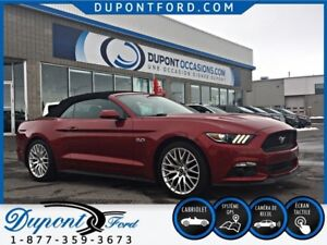 2016 Ford MUSTANG CONVERTIBLE GT PREMIUM 6 VTS - TAUX A PARTIR A