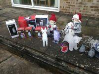 Outdoor Christmas Light Decorations Polar Bear, Reindeer, Penguin