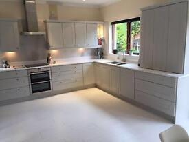 Carerra Quartz / Granite Kitchen Worktops