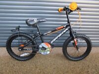 CHILDS STARFIGHTER BIKE IN EXCELLENT LITTLE USED CONDITION.. (SUIT APPROX. AGE. 3 / 4+)..